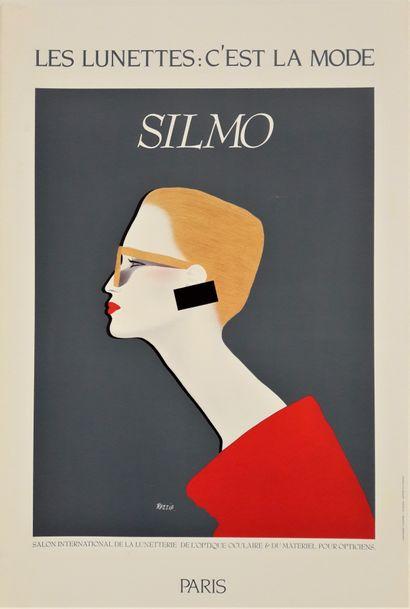 Artiste - Gérard Courbouleix dit RAZZIA (1949-) SILMO (Salon International de la...