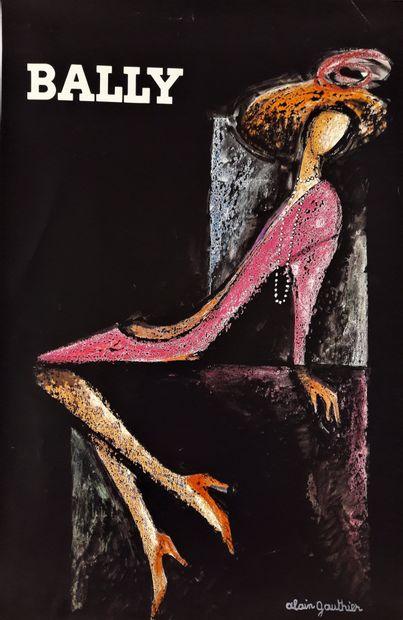 Artiste – Alain GAUTHIER (1939-) - Bally....