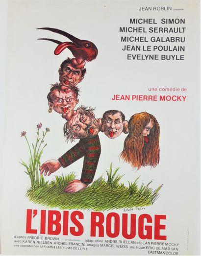 Artiste – Roland TOPOR (1938-1997) «L'ibis...