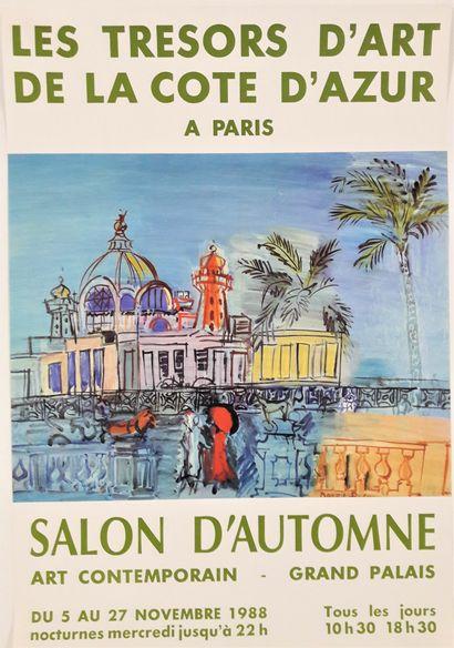 Artiste – Raoul DUFY (1877-1953) «Les trésors...