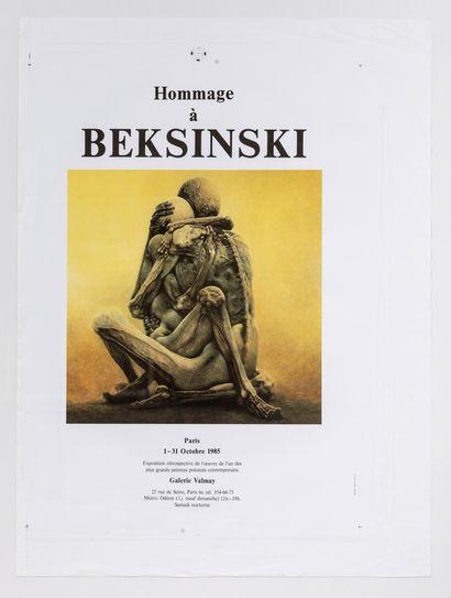 Artiste - Zdzislaw Beksinski (1929-2005)...