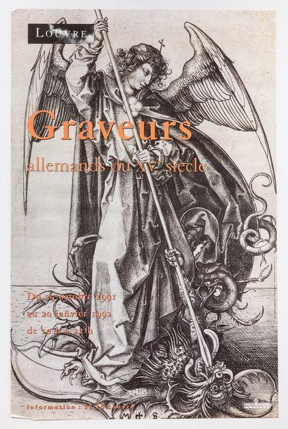 Artiste – «Graveurs allemands du XVème siècle....