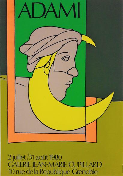 Artiste – Valerio ADAMI (1935-). Galerie...