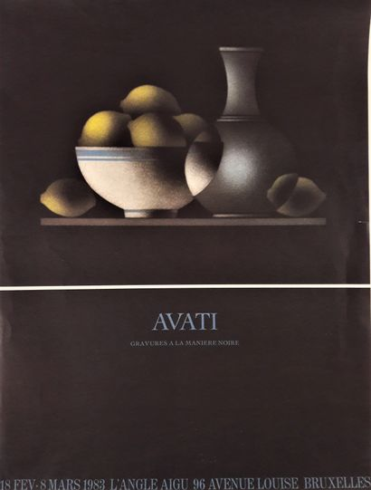 Artiste – Mario AVATI (1921-2009) «Gravures...
