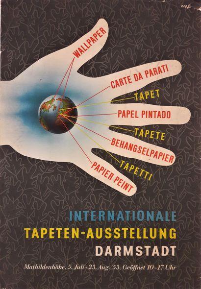 Artiste - Tony ZEPF (1902 - ) « Internationale...