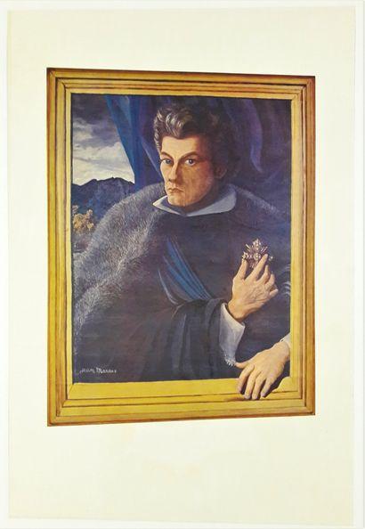 Artiste - Jean MARAIS (1913-1998). Autoportrait...