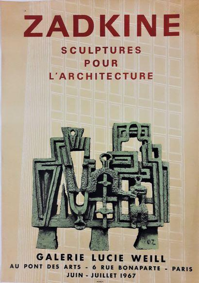 Artiste – Ossip ZADKINE (1990-1967) «Galerie...