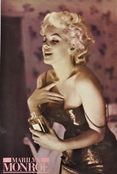 Artiste - Ed FEINGERSH (1925-1961) d'après. «Marilyn Monroe» 1988. 91x61cm/35,7x24in....