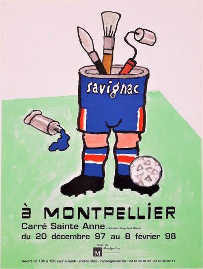 Artiste – Raymond SAVIGNAC (1907-2002) «Savignac...