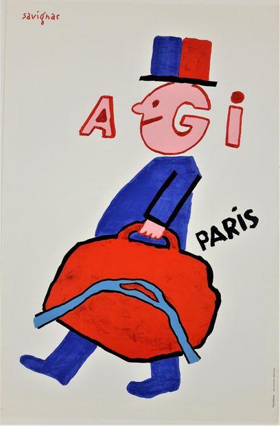 Artiste – Raymond SAVIGNAC (1907-2002) «AGI...