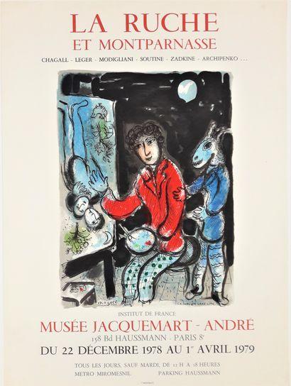 Artiste - Marc CHAGALL (1887-1985) d'après....