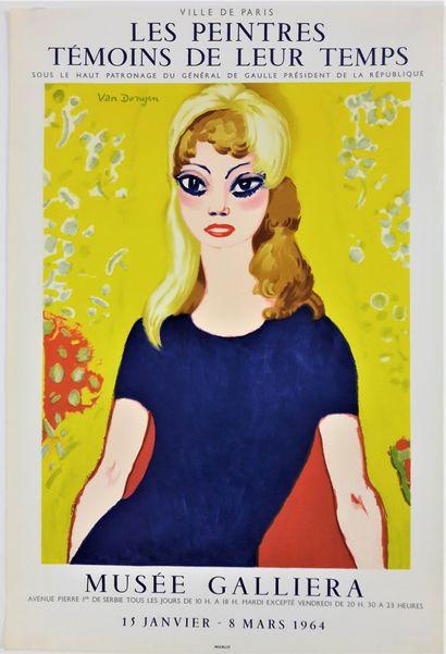 Artiste – Kees VAN DONGEN (1877-1968) «Les...