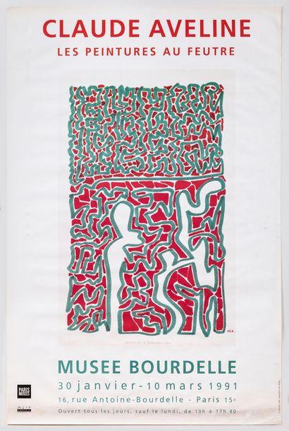 Artiste – Claude AVELINE (1901/1992) «Dessins...