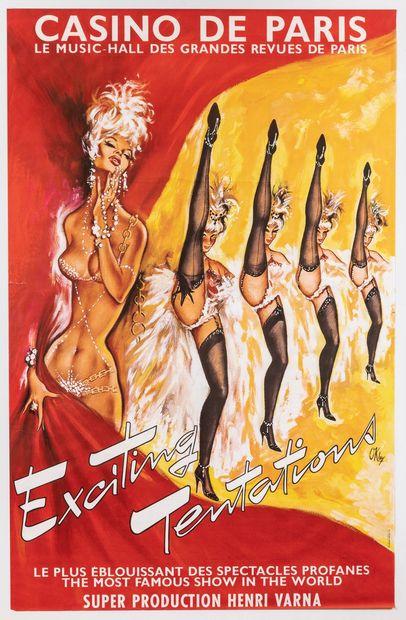 Artiste – Pierre OKLEY (1929-2007) – «Casino...