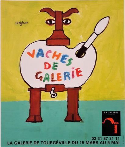 Artiste – Raymond SAVIGNAC (1907-2002) «Vaches...