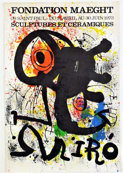 Artiste – Joan MIRO (1893-1983) «Fondation...