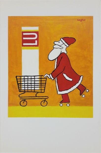 Artiste – Raymond SAVIGNAC (1907-2002) «Lu»...