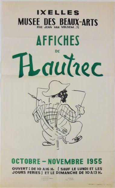 Artiste – Henri de TOULOUSE-LAUTREC (1864-1901) d'après. «Ixelles, Affiches de...