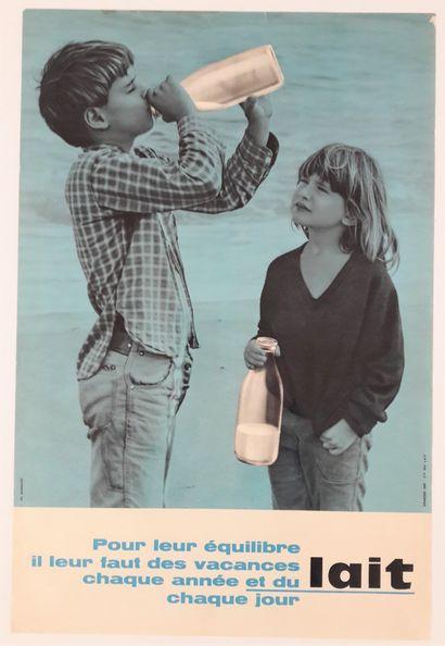 Alimentation - BIANCHINI «Le lait». Circa...