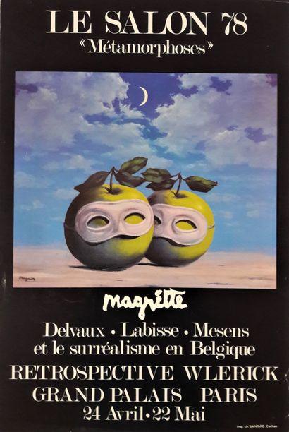 Artiste – René MAGRITTE (1898-1967)d'après....