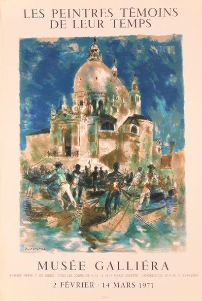 Artiste - Lucien FONTANAROSA (1912-1975) «Les peintres témoins de leur temps. Musée...