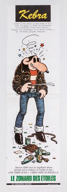 Artiste – JANO (1955-). «Kebra. Le zonard...