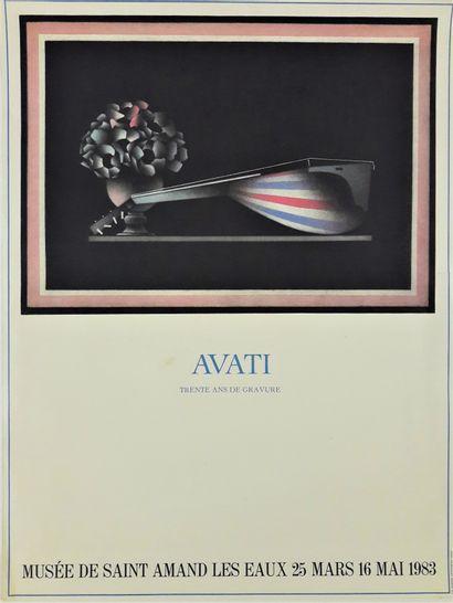 Artiste – Mario AVATI (1921-2009) «Musée...