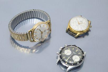 LIP Montre bracelet d'homme, index bâtons...
