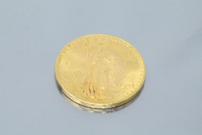 UNITED STATES  20-dollar gold coin