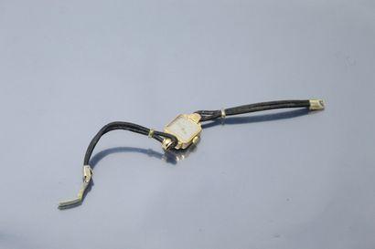 LUXE  Montre bracelet en or jaune 18k (750),...