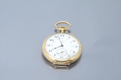 LIP chronomètre boîte et bélière en or jaune...