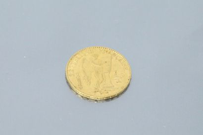 20 franc gold coin to the Engineers (1876...