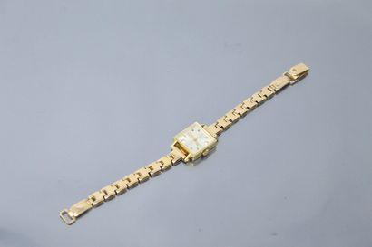 ENICAR  Montre bracelet de dame, boîtier...