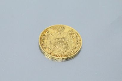 NAPOLEONIC KINGDOM OF ITALY  Gold coin of...