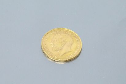 Gold Sovereign George V (1925)  APC.  Weight:...