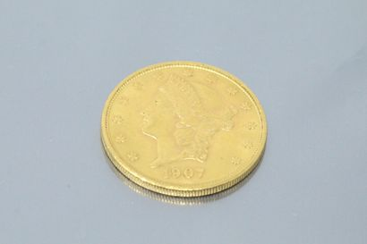 UNITED STATES  20 gold coin