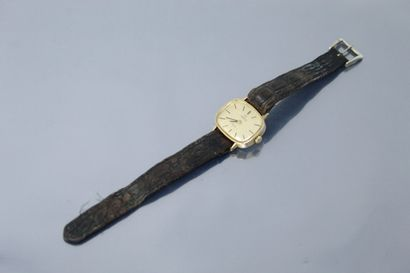 OMEGA  Montre bracelet de dame, boîtier ovale...