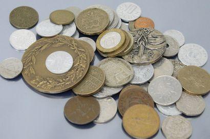Lot de pièces Européenne du XXème siècle...