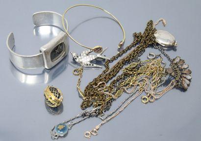 Lot de bijoux fantaisies