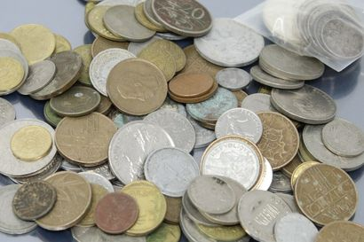 Ensemble de pièces en argent :  100 francs...