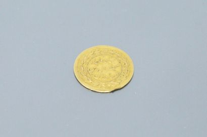 ½ Tumân - Mozaffar od-Din Qajar  Poids : 1.44 g.