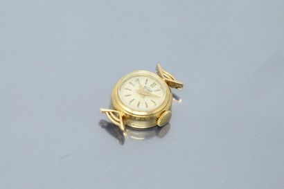 ELITAM  Boîtier de montre de dame en or jaune...