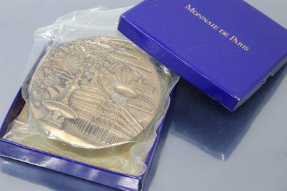 MONNAIE DE PARIS  Médaille en bronze florentin...