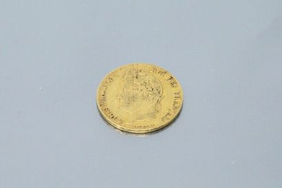 Pièce en or de 20 francs Louis-Philippe I...