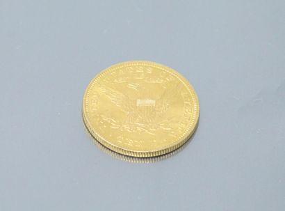 Pièce en or de 10 dollars américain