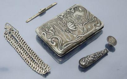 Débris d'argent : bracelet mailles Gourmette...