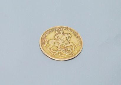 Médaille Saint Georges terrassant le dragon...