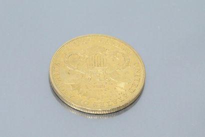 Pièce en or de 20 dollars