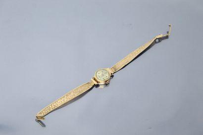 ELVIA  Montre bracelet de dame, boîtier rond...