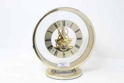 SEIKO  Pendule ronde, mouvement à quartz...